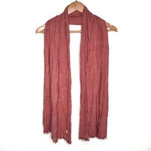 Levi's scarf vintage red EUC